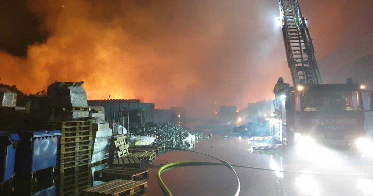 Großbrand Diez Live
